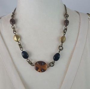 Vintage - Multi Color Bead Necklace